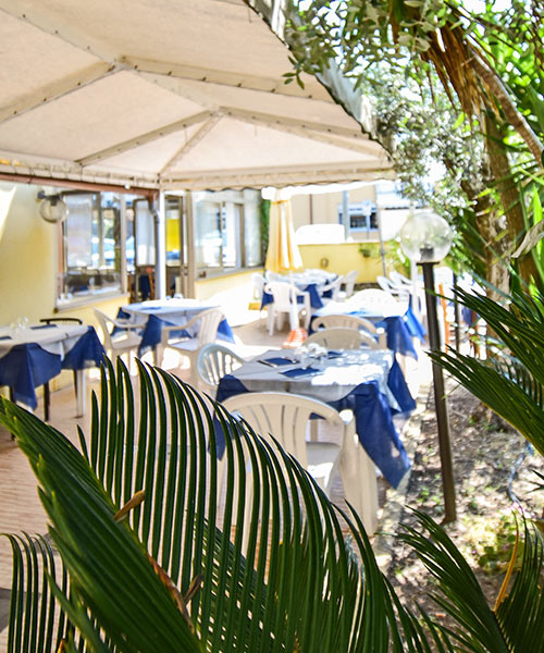 Details Restaurant Hotel La Pineta Marina di Carrara
