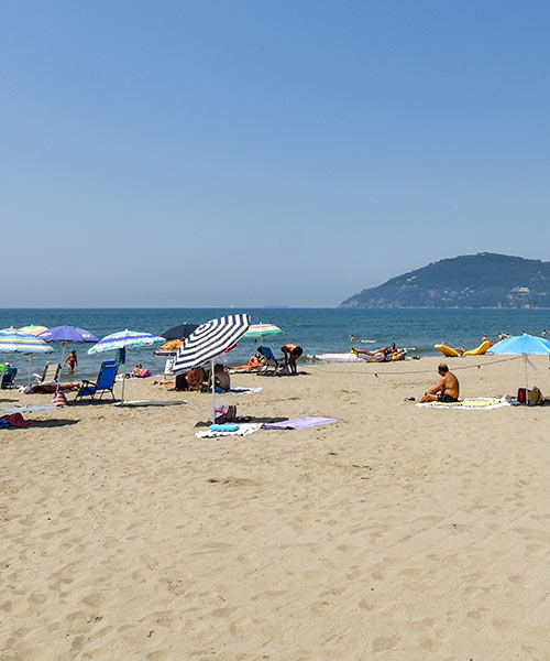 Dettagli Spiaggia Hotel La Pineta Marina di Carrara